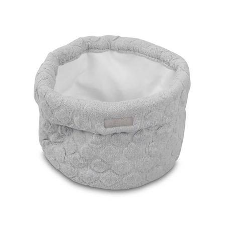 Slika Jollein® Košara za shranjevanje River Knit Soft Grey