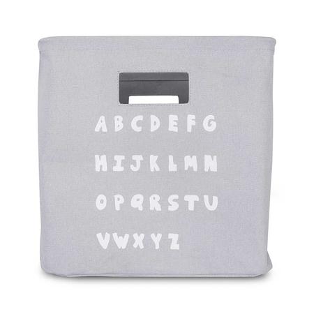 Slika Jollein® Košara za shranjevanje ABC Soft Grey