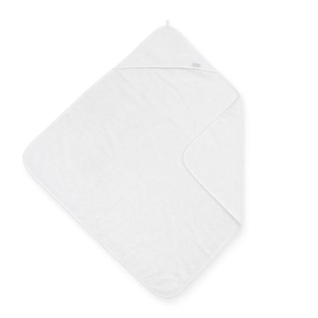 Jollein® Brisača s kapuco White 75x75