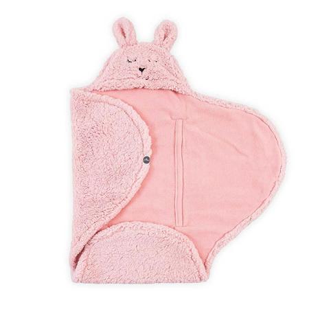Jollein® Odeja za novorojenčke Bunny Pink 105x100