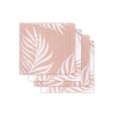 Jollein® Komplet 4 tetra pleničk Nature Pale Pink 70x70