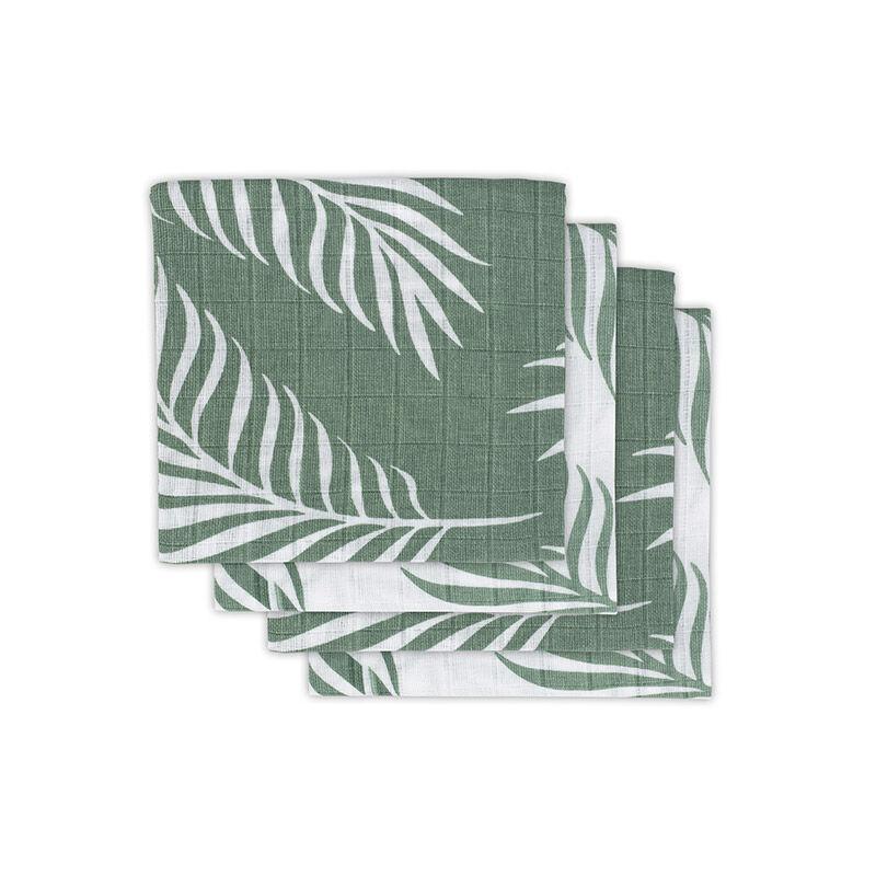 Jollein® Komplet 4 tetra pleničk Nature Ash Green 70x70
