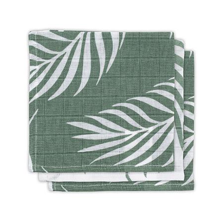 Slika Jollein® Komplet 3 tetra pleničk Nature Ash Green 31x31