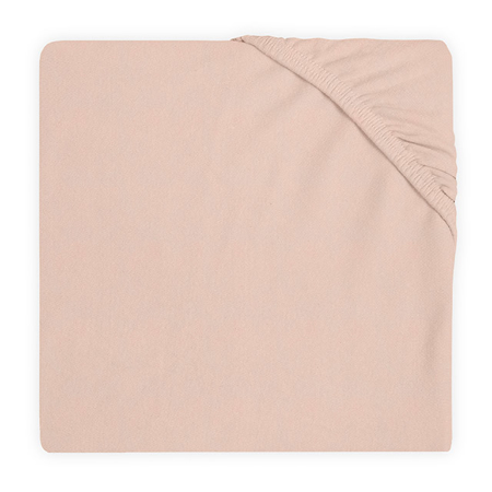 Slika Jollein® Bombažna rjuha Pale Pink 120x60