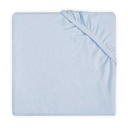 Slika Jollein® Bombažna rjuha Soft Blue 120x60