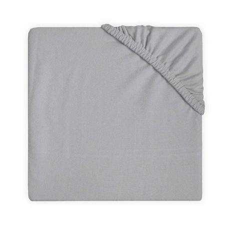 Slika Jollein® Bombažna rjuha Soft Grey 140x70/150x75