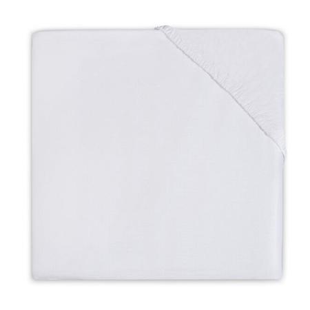 Jollein® Bombažna rjuha White 140x70/150x75