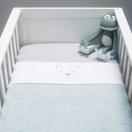 Jollein® Otroška posteljnina Stone Green 140x100