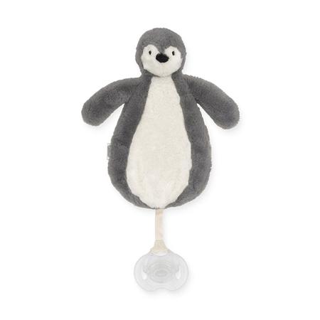 Slika Jollein® Priponka za dudo Penguin Storm Grey