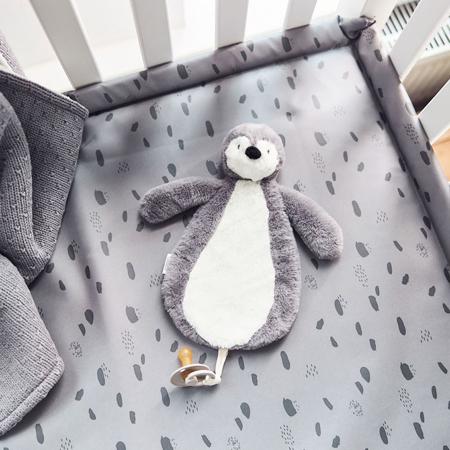 Jollein® Priponka za dudo Penguin Storm Grey