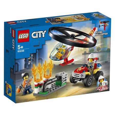 Slika Lego® City Gasilski helikopter na pomoč!