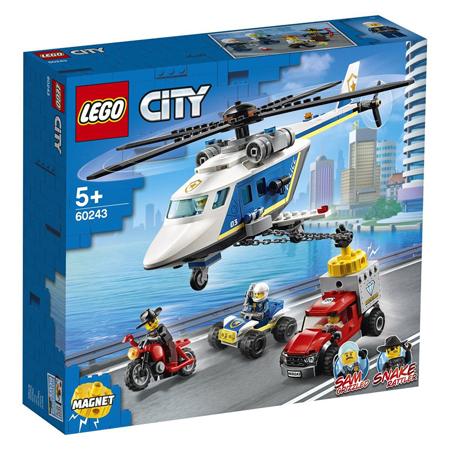 Slika Lego® City Pregon s policijskim helikopterjem