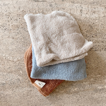 Konges Sløjd® Krpice za umivanje 3 kosi Sunrise