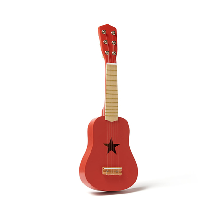 Slika Kids Concept® Lesena kitara Red