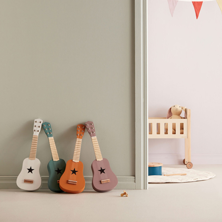 Kids Concept® Lesena kitara Red