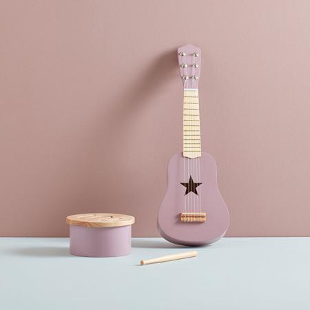 Kids Concept® Lesena kitara Lilac