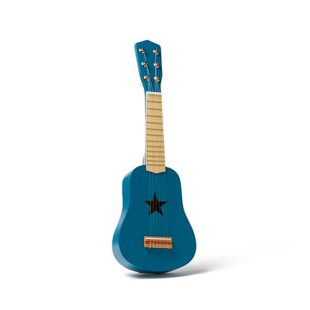Slika Kids Concept® Lesena kitara Blue