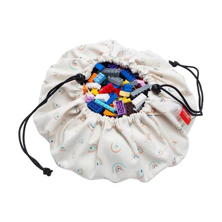 Slika Play&Go® Mini vreča in podloga Mavrica