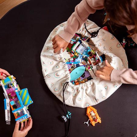 Play&Go® Mini vreča in podloga Mavrica