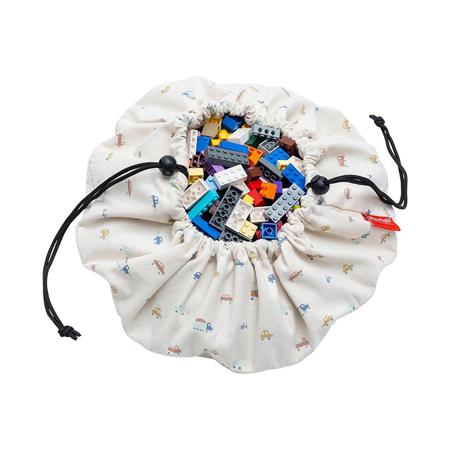 Slika Play&Go® Mini vreča in podloga Avtomobilčki