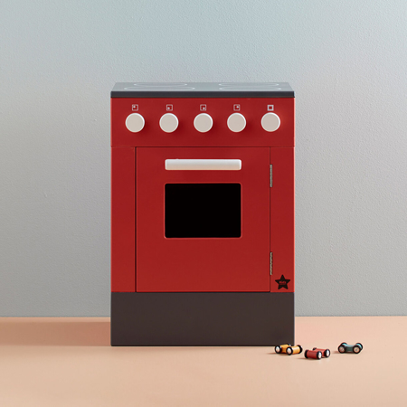 Kids Concept® Otroška pečica Bistro Red