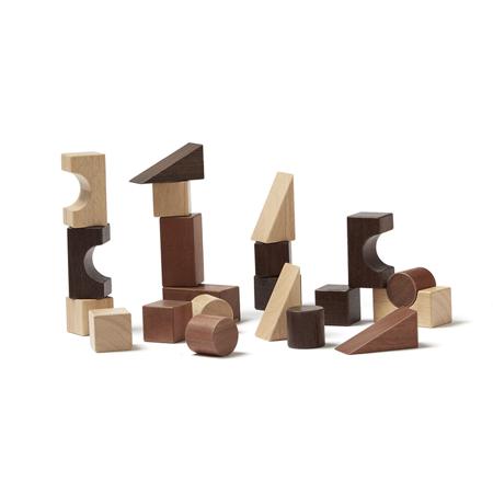 Kids Concept® Lesene kocke za sestavljanje Neo