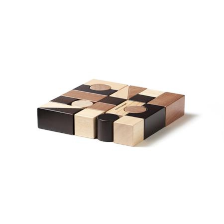 Slika Kids Concept® Lesene kocke za sestavljanje Neo