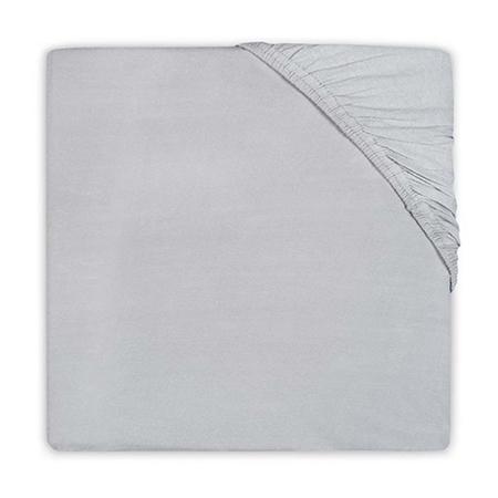 Slika Jollein® Bombažna rjuha Soft Grey 120x60