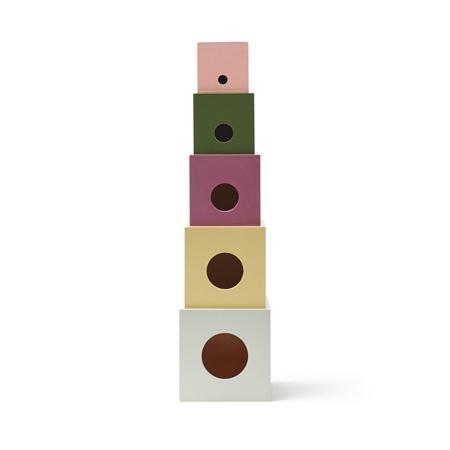 Slika Kids Concept® Lesene kocke Edvin