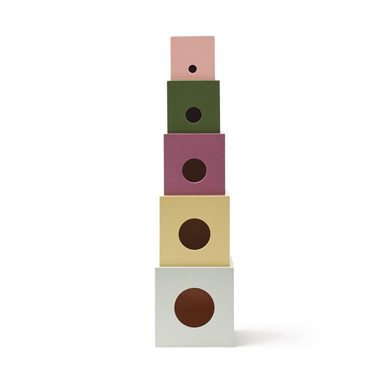 Kids Concept® Lesene kocke Edvin
