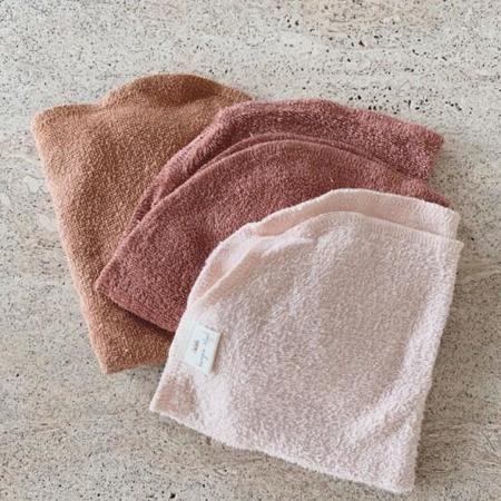 Konges Sløjd® Krpice za umivanje 3 kosi Bloom