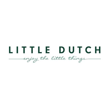 Little Dutch® Bombažni slinček Pure Blue