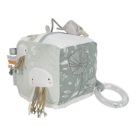 Slika Little Dutch® Senzorična kocka Kit Ocean Mint
