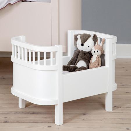 Sebra® Posteljica za lutke Classic White