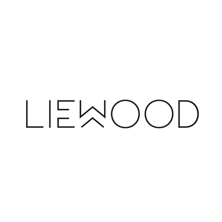 Liewood® Jedilni set iz silikona Vivi Rabbit Sea Blue