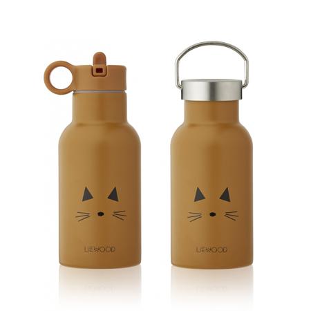 Slika Liewood® Steklenička iz nerjavečega jekla Anker Cat Mustard 350ml