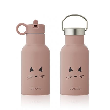 Slika Liewood® Steklenička iz nerjavečega jekla Anker Cat Rose 350ml