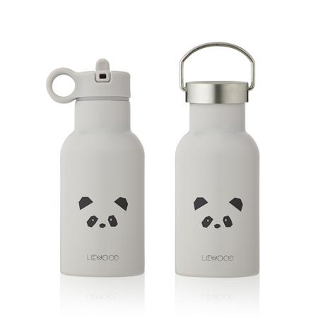 Slika Liewood® Steklenička iz nerjavečega jekla Anker Panda Light Grey 350ml