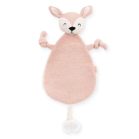 Jollein® Ninica in priponka za dudo Deer Pale Pink