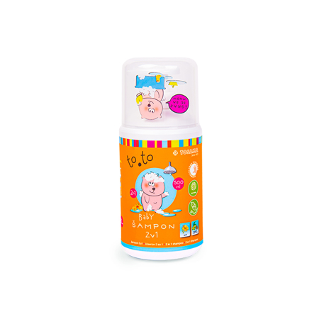 Tosama® Otroški šampon to.to 2v1 500 ml