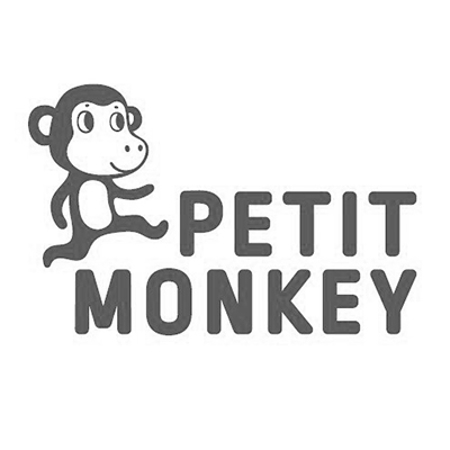 Petit Monkey® Škatla za malico s priborom Peach