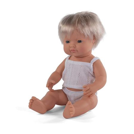 Slika Miniland® Dojenček European Boy 38cm