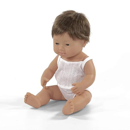 Slika Miniland® Dojenček Down Syndrome European Boy 38cm