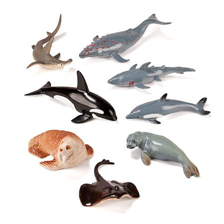 Slika Miniland® Živalice Marine Animals 8 kosov