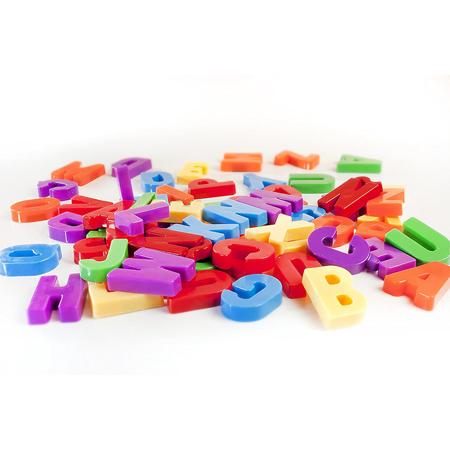 Miniland® Magnetne črke 76kosov