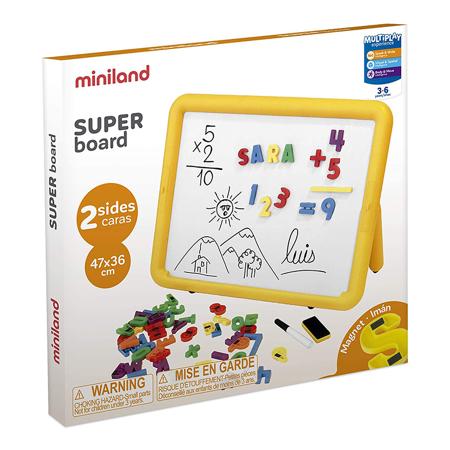 Miniland® Obojestranska magnetna tabla 47x36