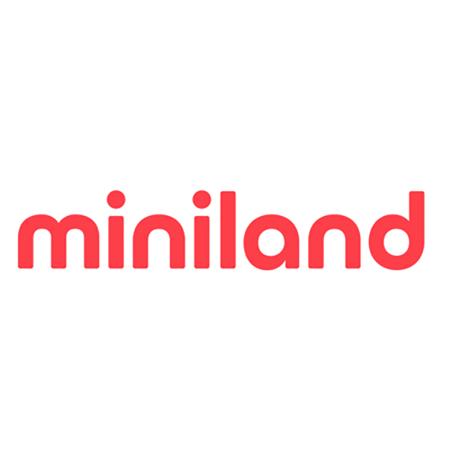 Miniland® Set dveh posodic s termo torbo 200ml Natur Round Bunny