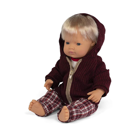 Slika Miniland® Dojenček z obleko Cold weather Trousers Set 38cm