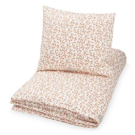 Slika CamCam® Otroška posteljnina Caramel Leaves Junior 100x140, 45x40
