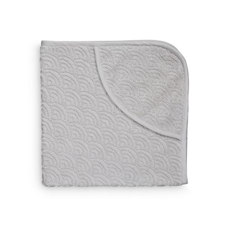 CamCam® Brisača s kapuco Grey 80x80